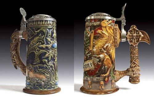 Hammer Back A Few With Warhammer Online Beer Steins