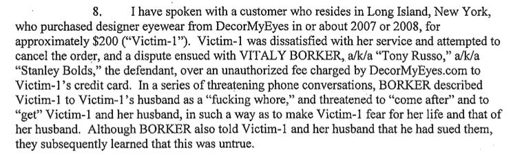 The Worst Threats And Insults Spewed By A Cyberstalking Fraudster