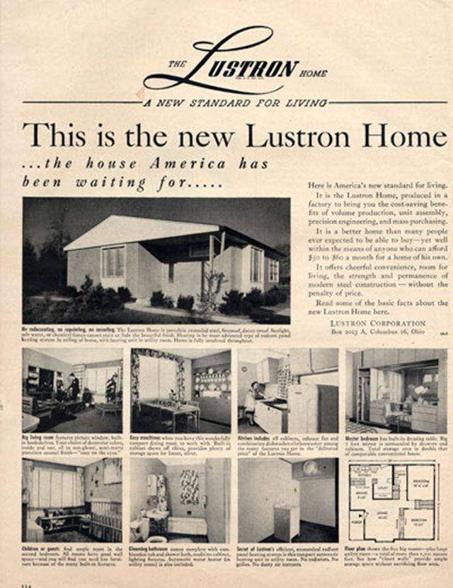 The Prefabbed Lustron House Is a Peep at Post-WWII America