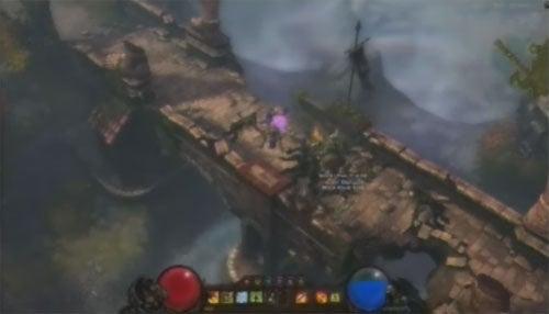A Blurry Screen From Diablo III