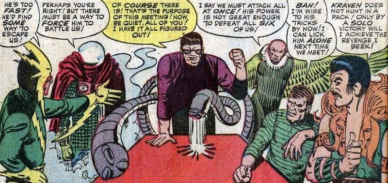 Sinister Six Defeat Amazing Spider-Man! (Or At Least Their Movie Does)