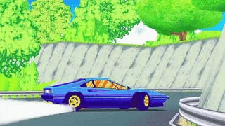 Drift Stage is a Fantastic 80's Racer
