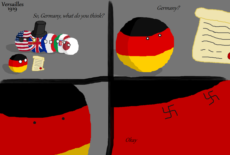 Daily Polandball: Versailles