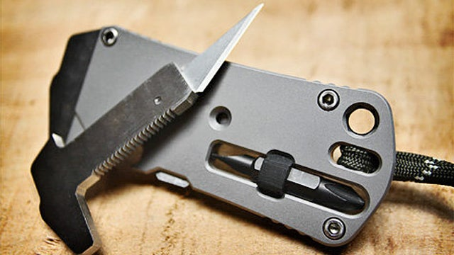 Wrex Titanium Pocket Wrench Lets You Loosen Bolts On The Go