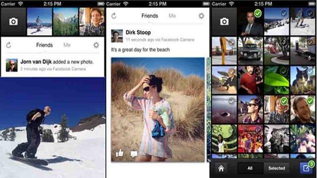 Facebook's New Camera App Is Pretty Much Instagram