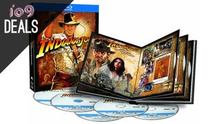 The Complete Indiana Jones, HBO on Blu-ray, More Great Book Deals