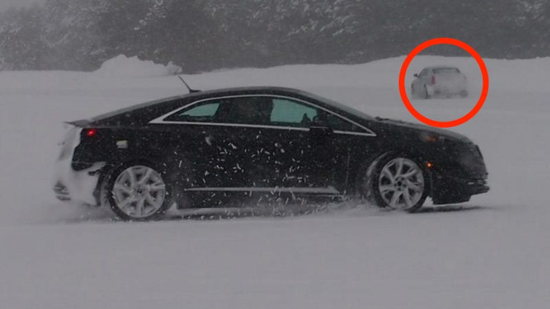 Cadillac Accidentally Leaks The 2014 CTS On Its Own Facebook Page