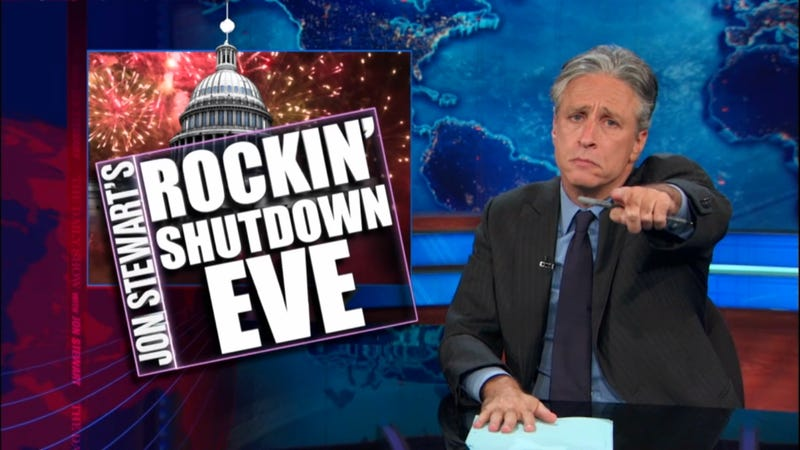 Jon Stewart Goes Off on GOP for Shutting Down the Government