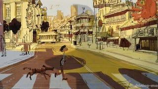 Concept Art For <em>Big Hero 6</em>'s San Fransokyo Is Absolutely Charming