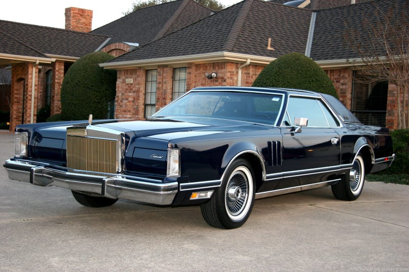 Behold the 1979 Lincoln Continental Mark V
