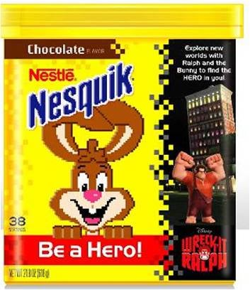 World's Worst Promotion: Nestle Recalls Wreck-It Ralph-Branded Nesquik