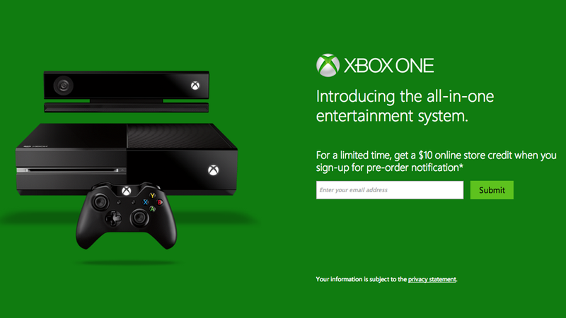 How to Get First in Line for Xbox One Preorders