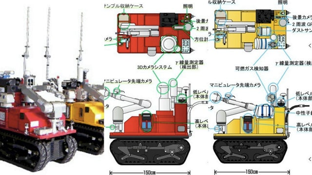 Monirobo Robots Deployed at Fukushima to Help Monitor Radiation Risks
