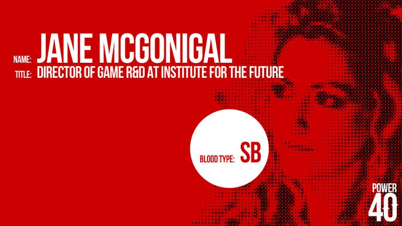↓ 35. Jane McGonigal, Optimistic Game Designer