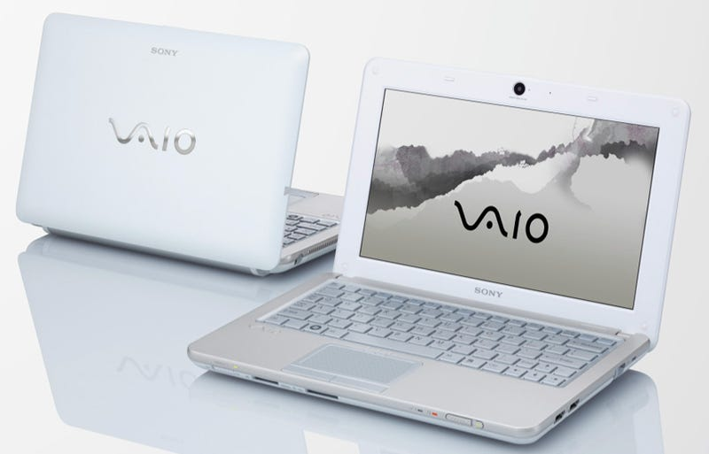 Sony Vaio W: It's a Very Pretty $500 Netbook, Of Course