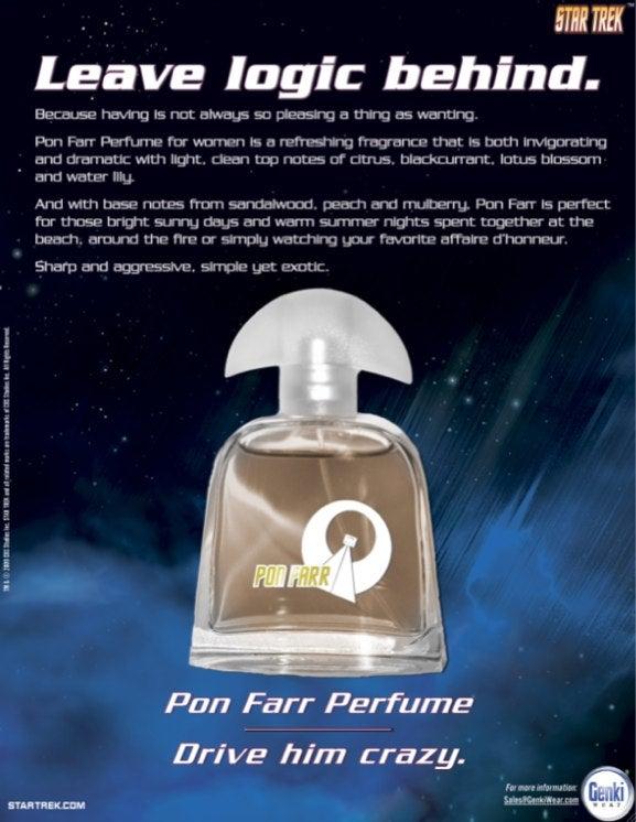 """Star Trek's Pon Farr Fragrance Ads Help You """"Leave Logic Behind"""""""