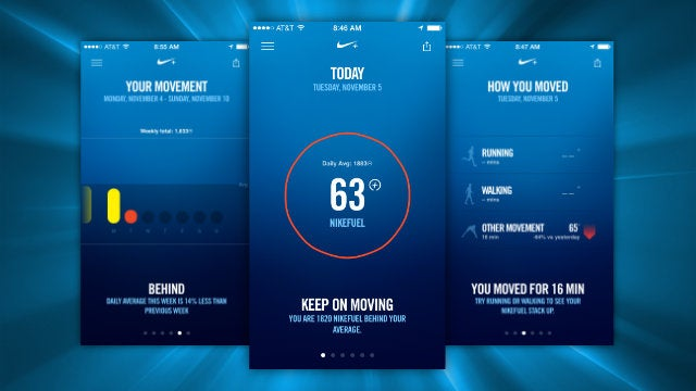 Nike+ Move Is a Battery-Efficient Pedometer and Tracker for the iPhone