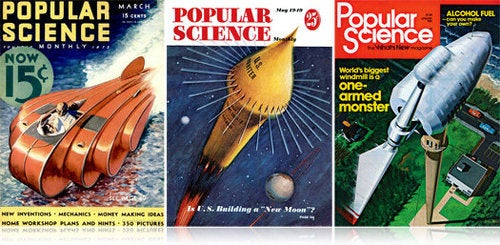 The Complete Popular Science Archive Now Available