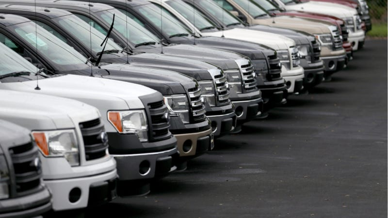Ford Dealers Stockpiling As Many F-150s As They Can Order