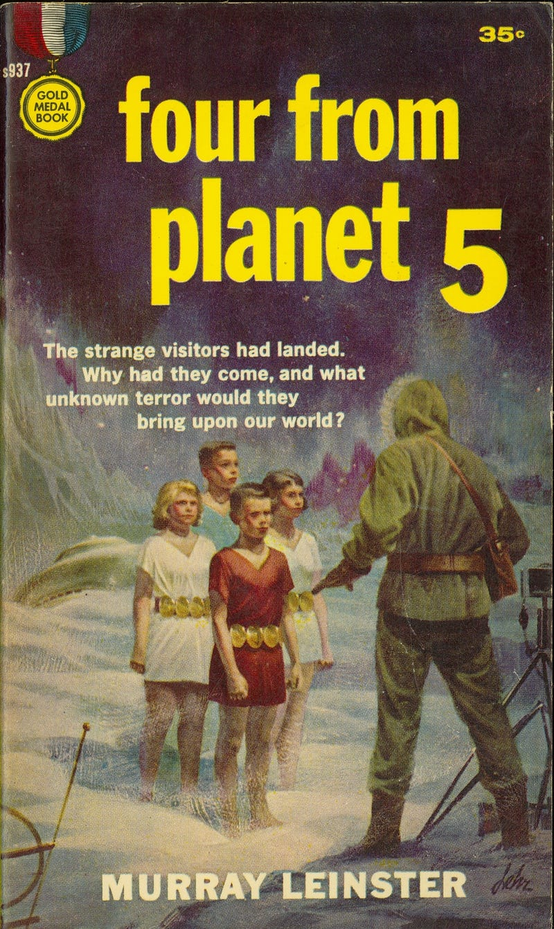 Pulp SF Book Covers That Channel Pure Id