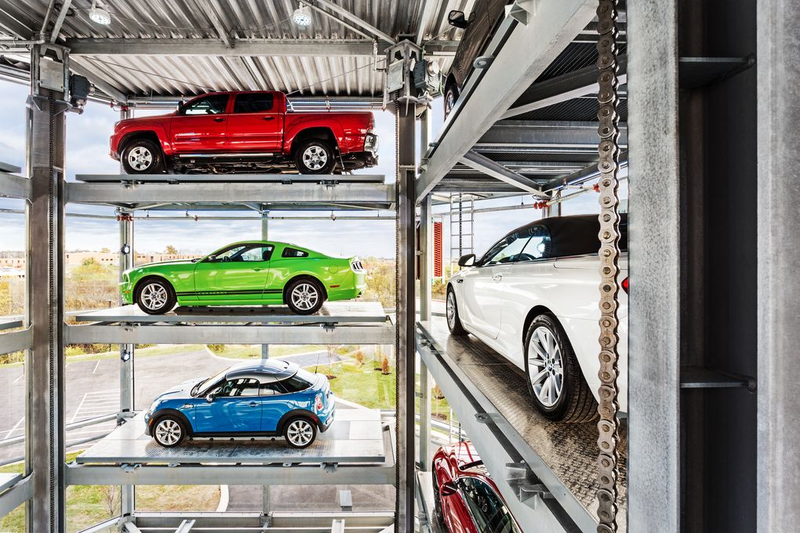This Giant Vending Machine Can Dispense Your Next Car