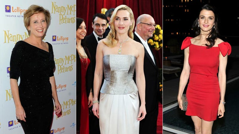 Kate Winslet, Rachel Weisz, and Emma Thompson Form Anti-Plastic Surgery Alliance