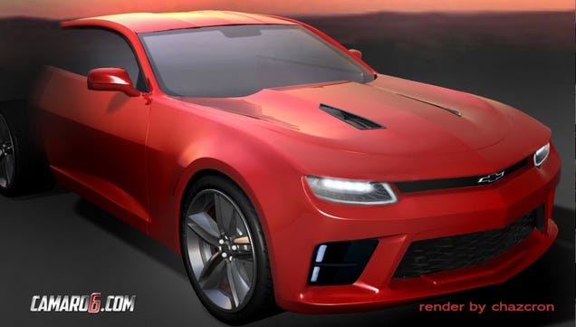 This Is The Best Rendering Of The 2016 Chevrolet Camaro Yet