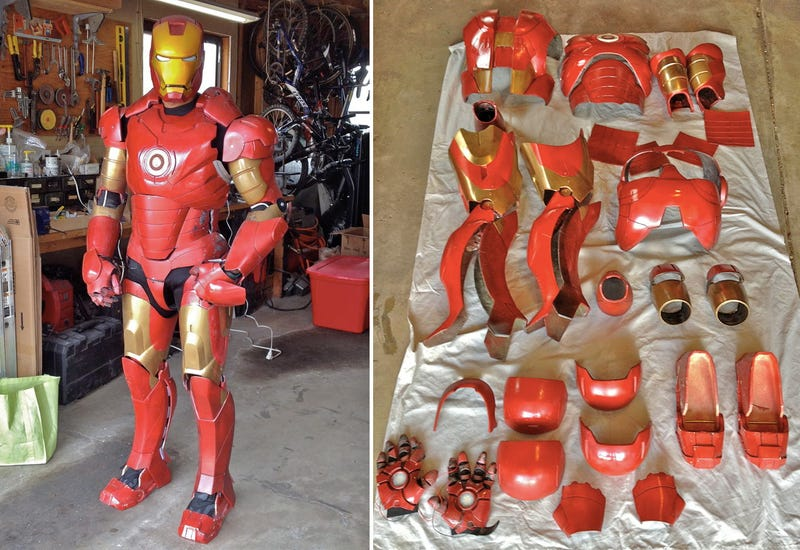 Endless Animated Features Make This the Best Amateur Iron Man Suit Yet