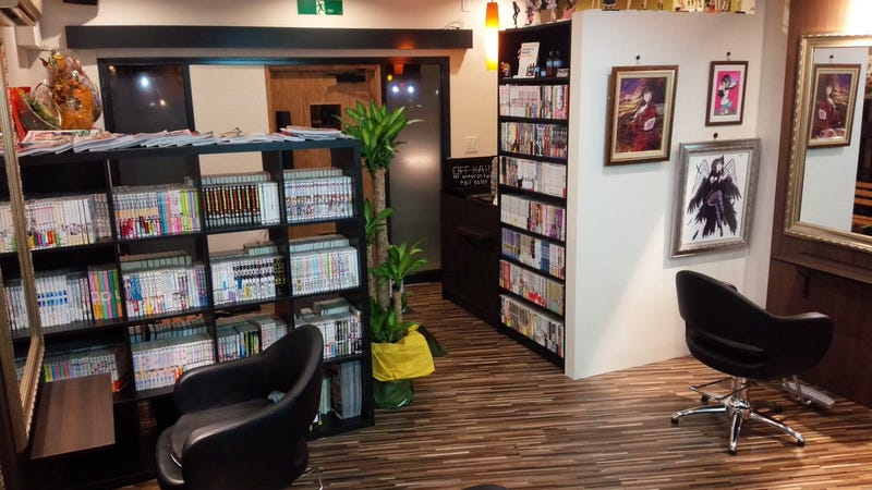 Anime Fans, This Tokyo Hair Salon Is For You