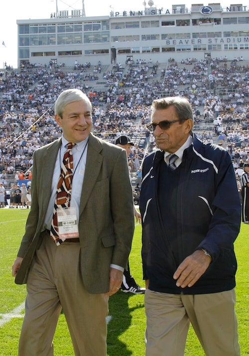 Penn State's Former President Says He Was Abused As A Child, Too