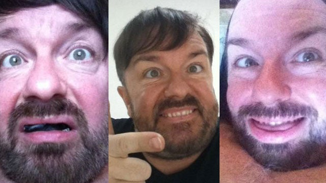 Ricky Gervais Would Never Mock People with Down's Syndrome, Except Always
