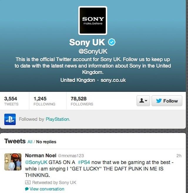 Rockstar: Sony's PS4 GTA V Tweet Was Just A Typo [UPDATE]