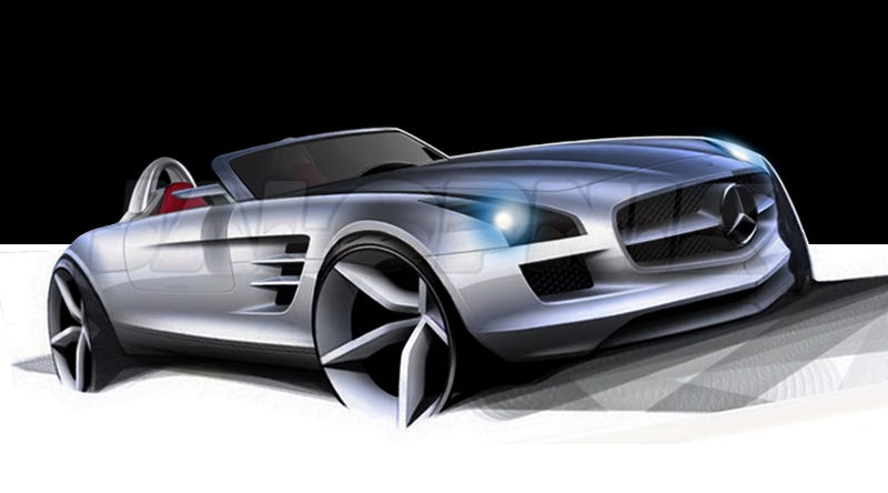 Mercedes SLS AMG Roadster On The Way?