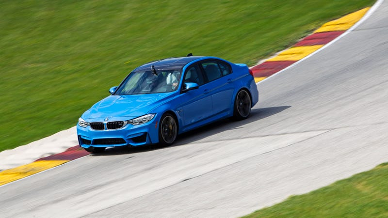 What You Learn Driving The BMW M3 And M4 At A Great Race Track