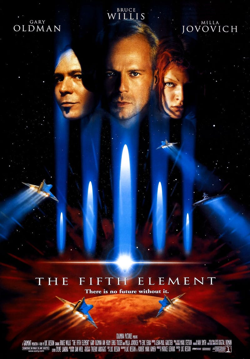 Your (Weekly) Summer Movie Guide to Movies You Should Watch Again: The Fifth Element