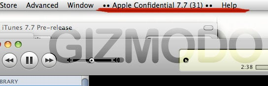 iPhone 2.0 Video Walkthrough and iTunes 7.7 Confidential Screenshots