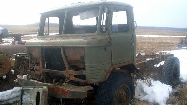 Russian Field Contains Interesting Selection of Soviet Oddities