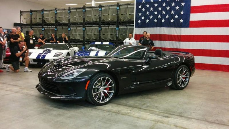 What Is This Brand New Dodge SRT Viper Convertible?