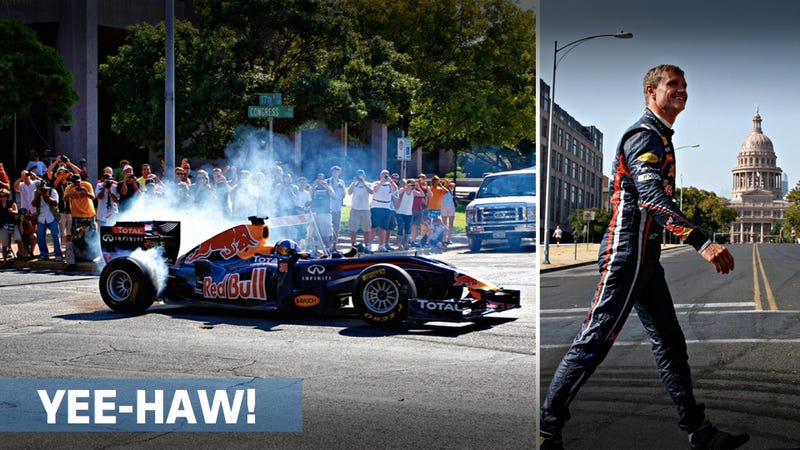 David Coulthard talks donuts, breakfast tacos, and F1 in the U.S.