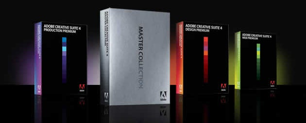 Adobe Creative Suite 4 Now Shipping