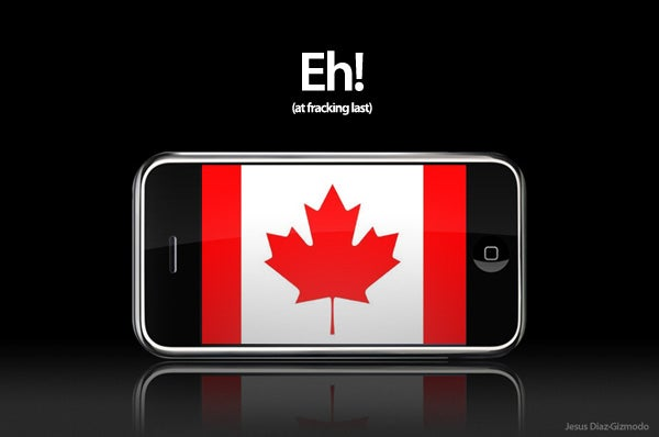 iPhone Finally Announced in Canada