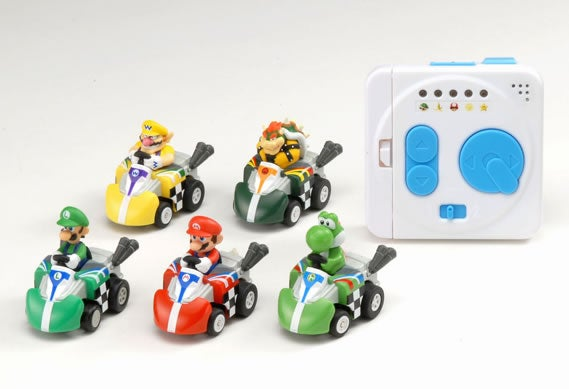 Remote Control Mario Kart Has Shells, Bananas