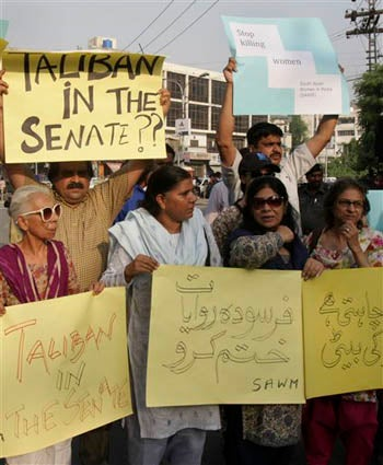 """Honor Killings"" In Western Pakistan Spark Parliamentary Protests"