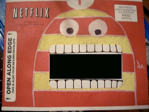 Netflix Envelope Art Is Better Than the Movie Inside