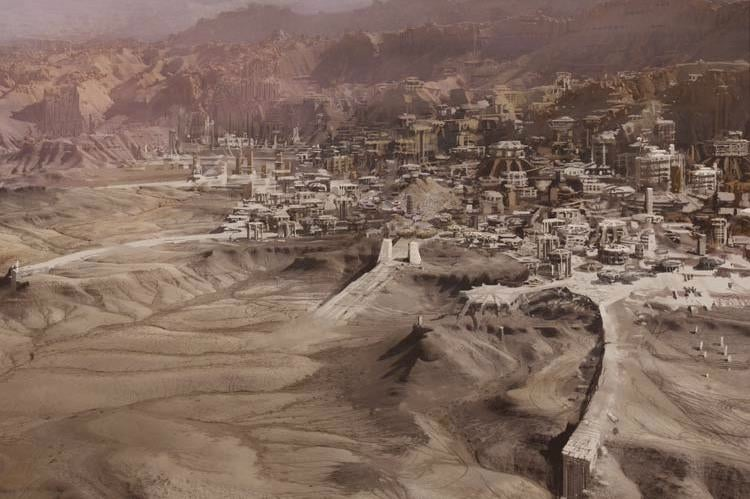 John Carter concept art transports you to the magnificent Barsoom