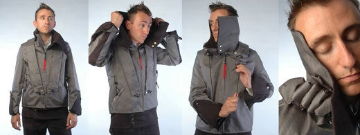 Excubo Sleeping Jacket: For Those Brave Enough To Sleep On the Subway