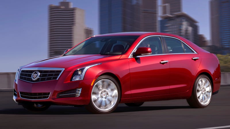 2013 Cadillac ATS: Suck It, Germany