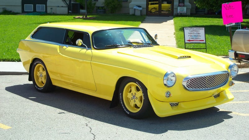 Is A Yellow Chopped Top Volvo 1800ES Custom A Lemon?