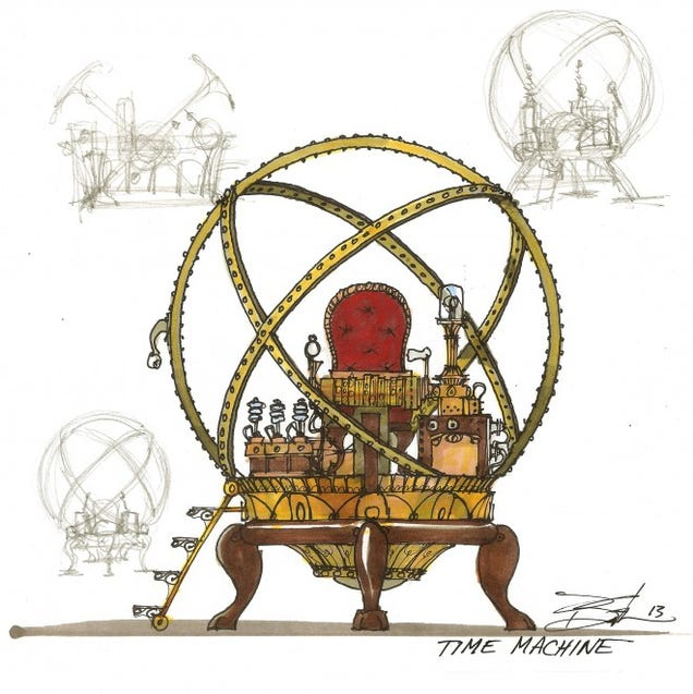 an analysis of the time machine concept by h g wells Enact the impossible1 in h g wells's the time machine: an invention, such an  overtly  time travel forms the basis of h g wells's narrative, my analysis is  oriented  dimension, but wells's particular innovation is in the concept of a  machine.