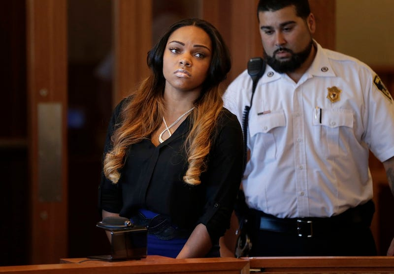 Aaron Hernandez's Girlfriend Accused Of Destroying Evidence
